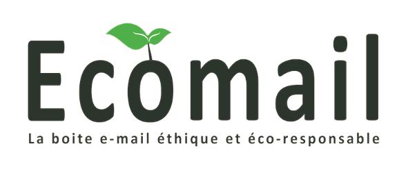 Ecomail, un boite e-mail éthique et éco-responsable.