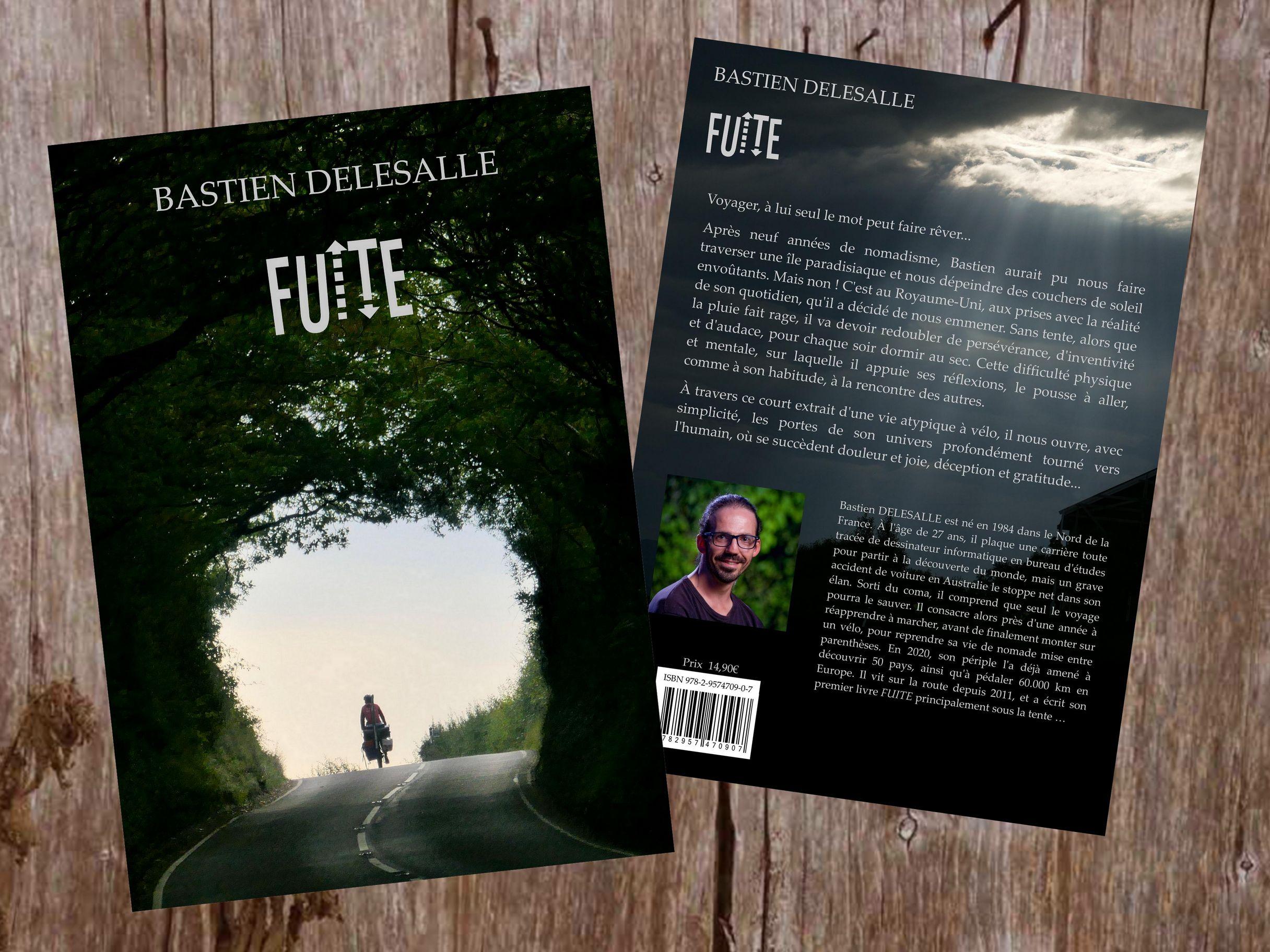 Livre Fuite de Bastien Delesalle